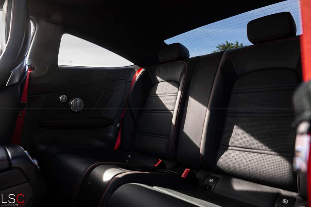 Mercedes C43 AMG coupé interior