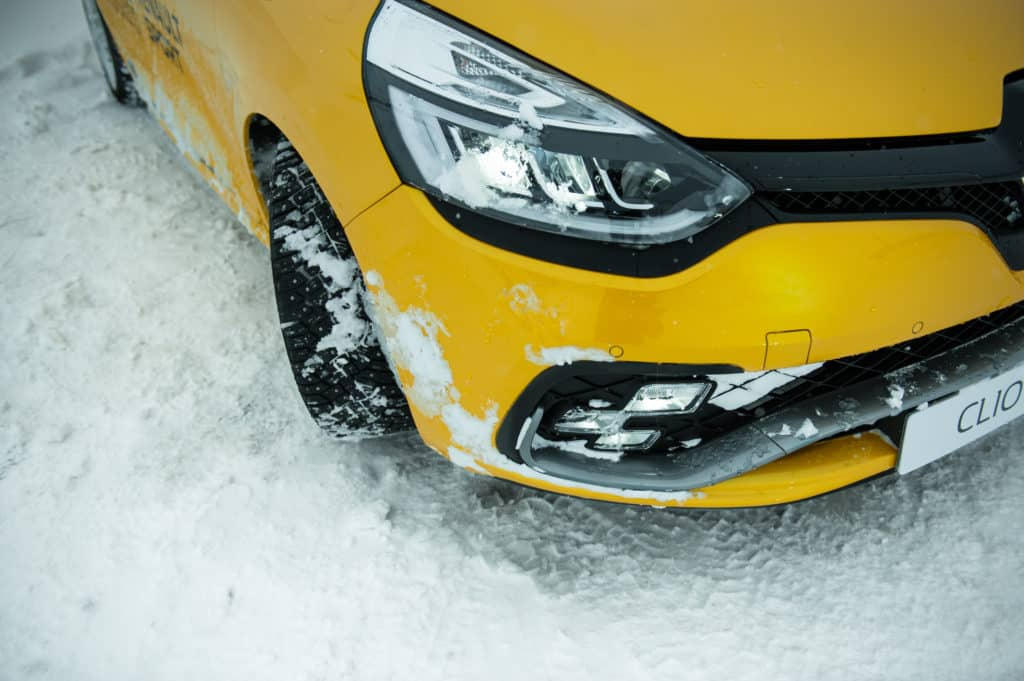 Renault Clio RS Ice Driving Experience