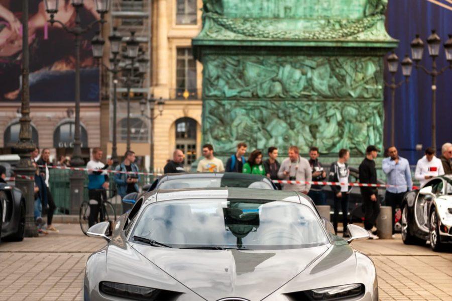 Bugatti Chiron Place Vendôme Paris