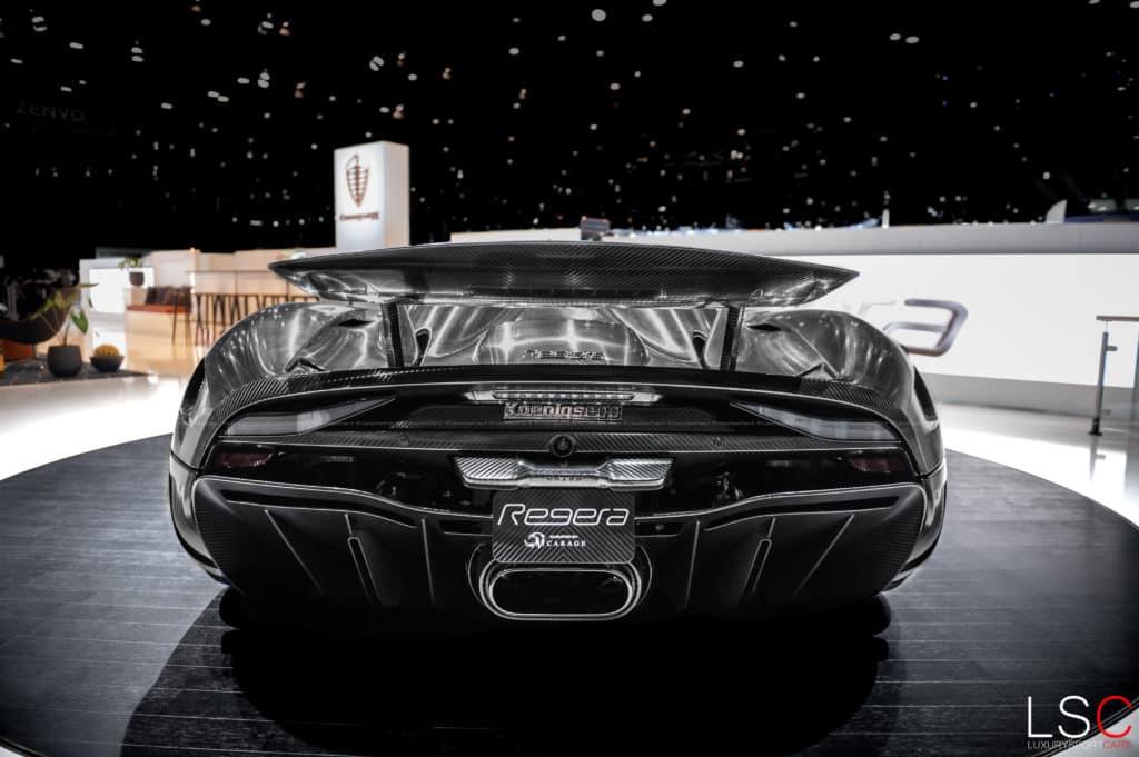 Koenigsegg Regera Carbone