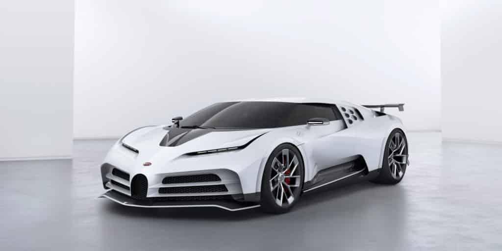 Bugatti Centodieci, renaissance de la Bugatti EB110