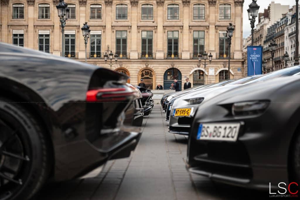 Bugatti, le rallye des 110 ans d'existence