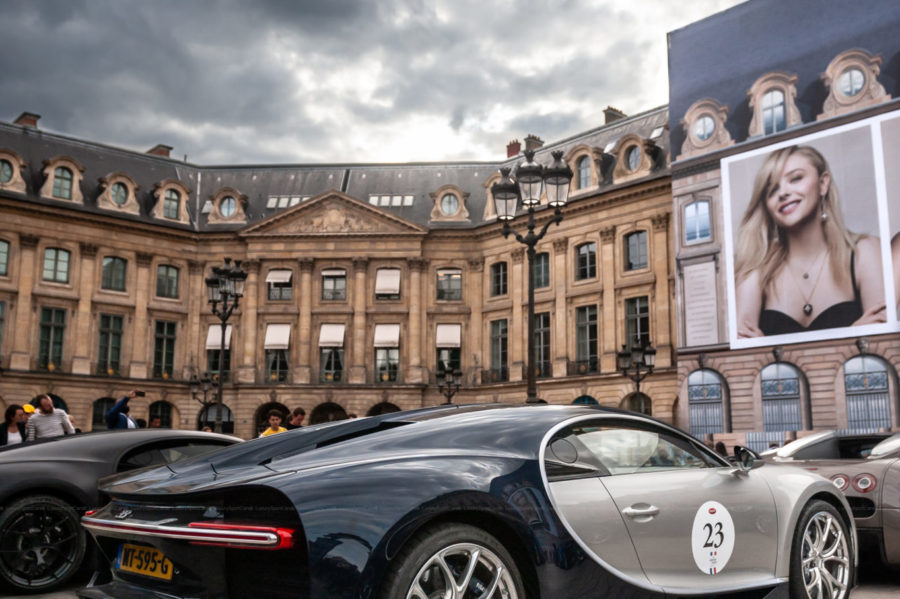 Bugatti Chiron Place Vendôme Paris